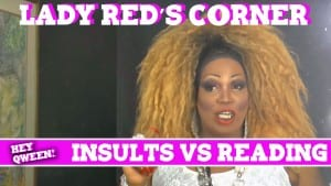 Lady Red's Corner: Insults VS Reading Photo