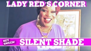 Lady Red's Corner: Silent Shade Photo