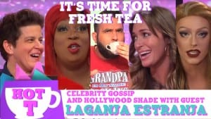 Laganja Estranja on Hey Qween HOT T: Celebrity Gossip And Hollywood Shade Episode 5 Photo