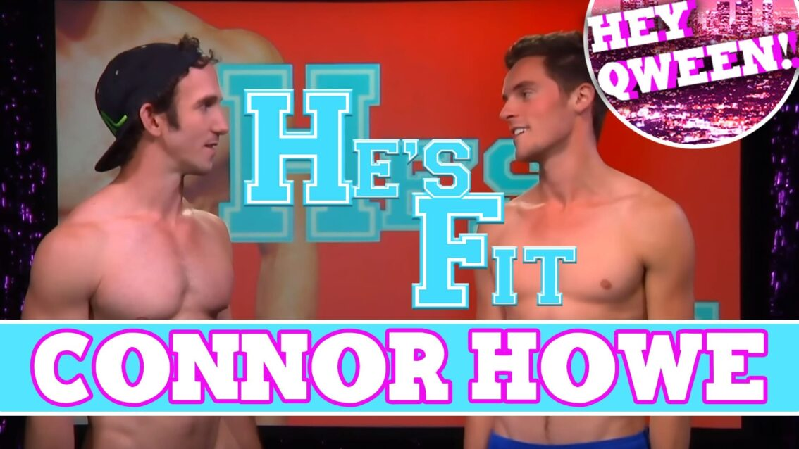 Lean Bodied Connor Howe On HE'S FIT!: Shirtless Fitness with Greg McKeon