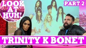 Trinity K Bonet: Look at Huh SUPERSIZED Pt 2 on Hey Qween! with Jonny McGovern Photo