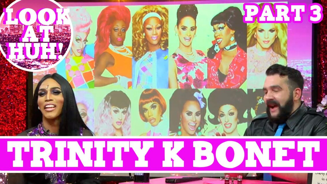 Trinity K Bonet: Look at Huh SUPERSIZED Pt 3 on Hey Qween! with Jonny McGovern