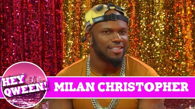 Milan Christopher on Hey Qween with Jonny McGovern!!