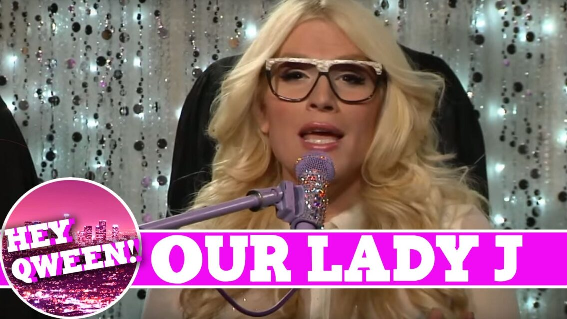 Our Lady J On Hey Qween With Jonny McGovern