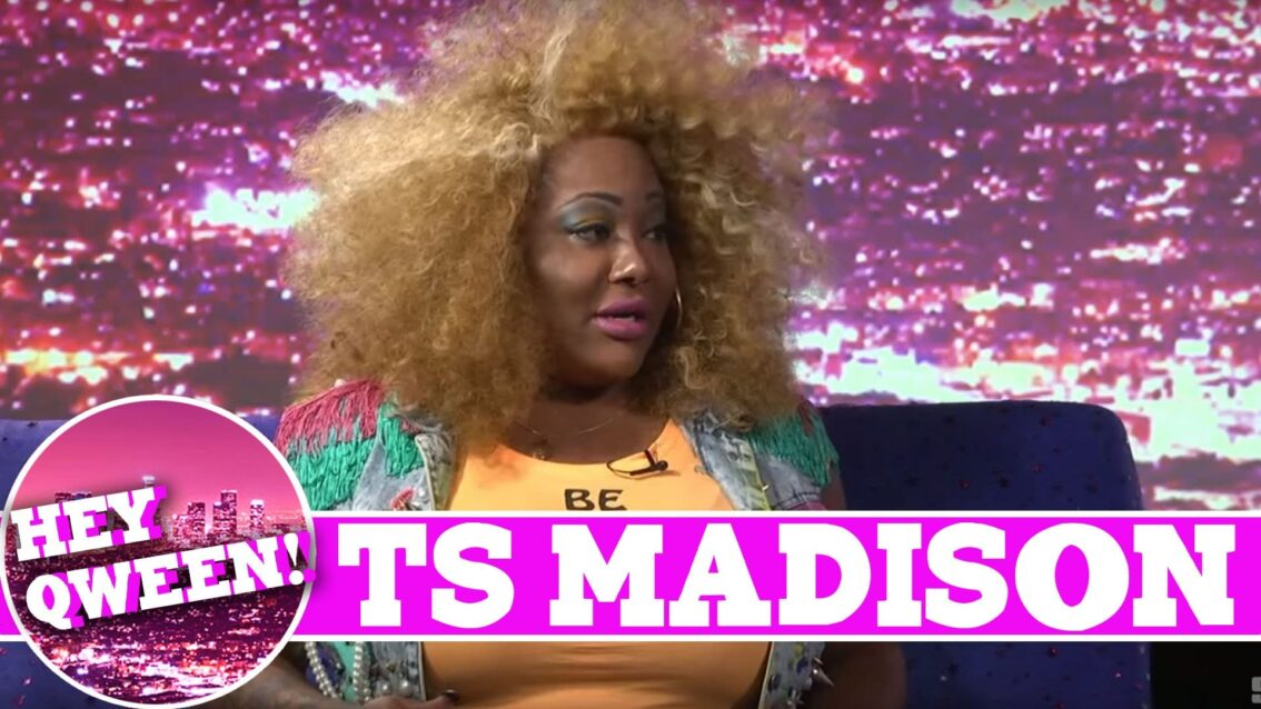 TS Madison On Hey Qween With Jonny McGovern