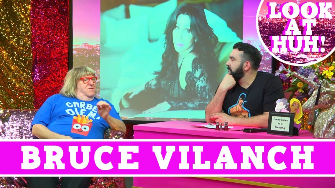 Bruce Vilanch: Look at Huh SUPERSIZED Pt 1 on Hey Qween! with Jonny McGovern