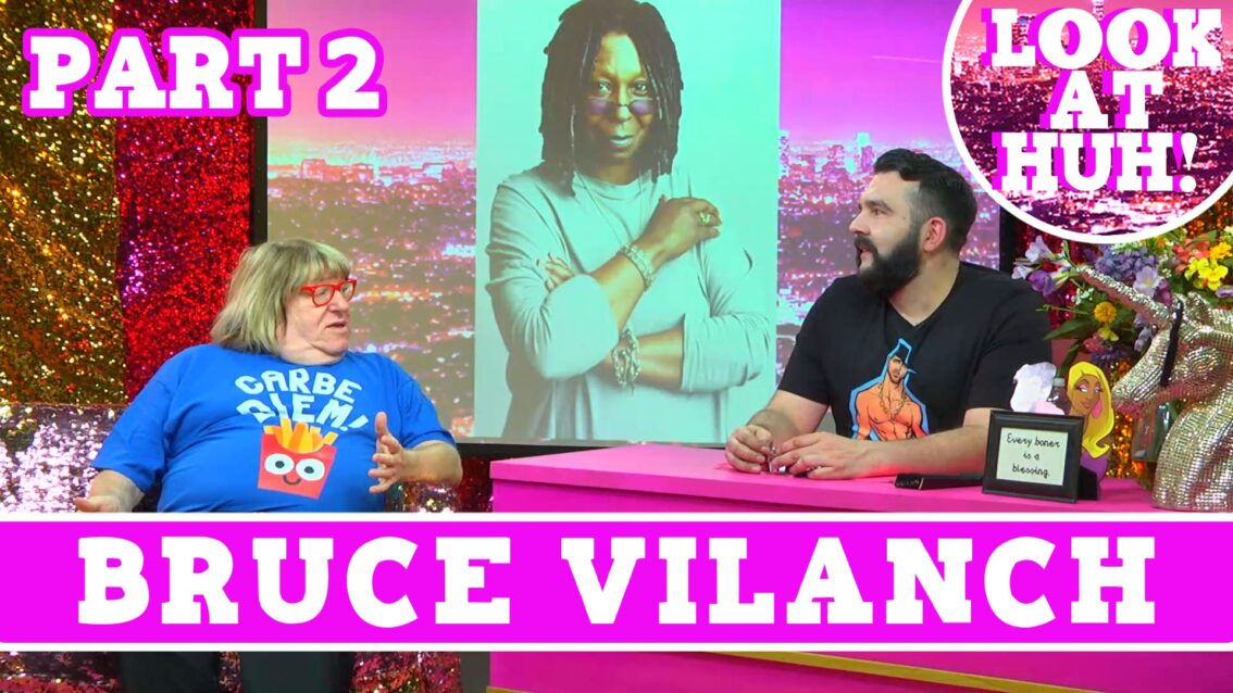 Bruce Vilanch: Look at Huh SUPERSIZED Pt 2 on Hey Qween! with Jonny McGovern