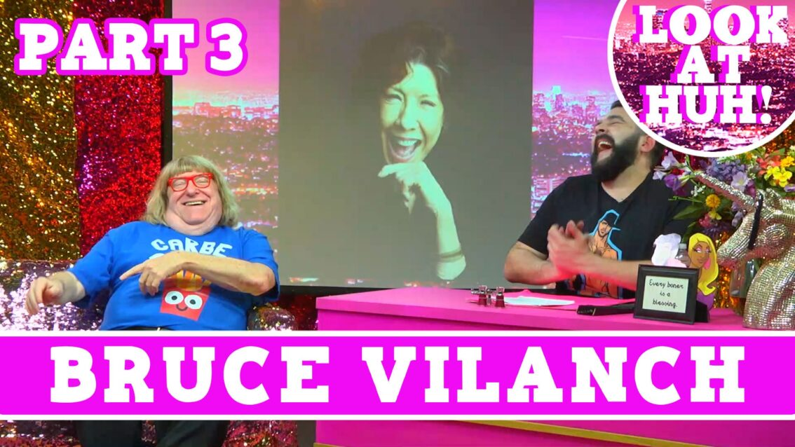 Bruce Vilanch: Look at Huh SUPERSIZED Pt 3 on Hey Qween! with Jonny McGovern
