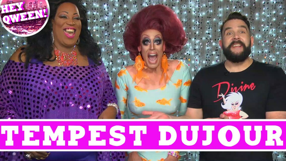 Tempest DuJour on Hey Qween with Jonny McGovern! PROMO!