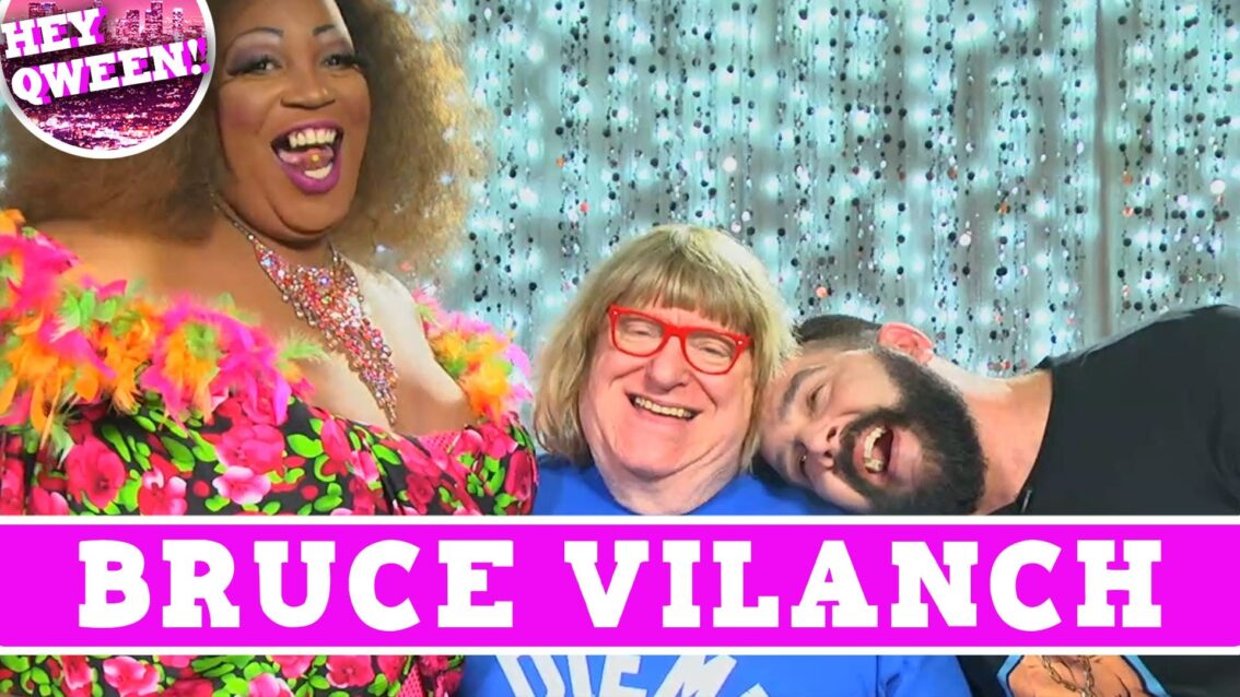 Comedy Legend Bruce Vilanch on Hey Qween! With Jonny McGovern PROMO!