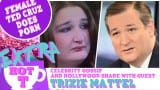 Extra Hot T with Trixie Mattel: Female Ted Cruz Lookalike Does A Porno?