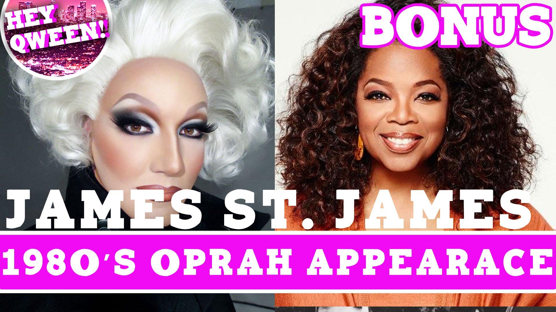 Hey Qween! BONUS: James St James 1980s Oprah Appearance