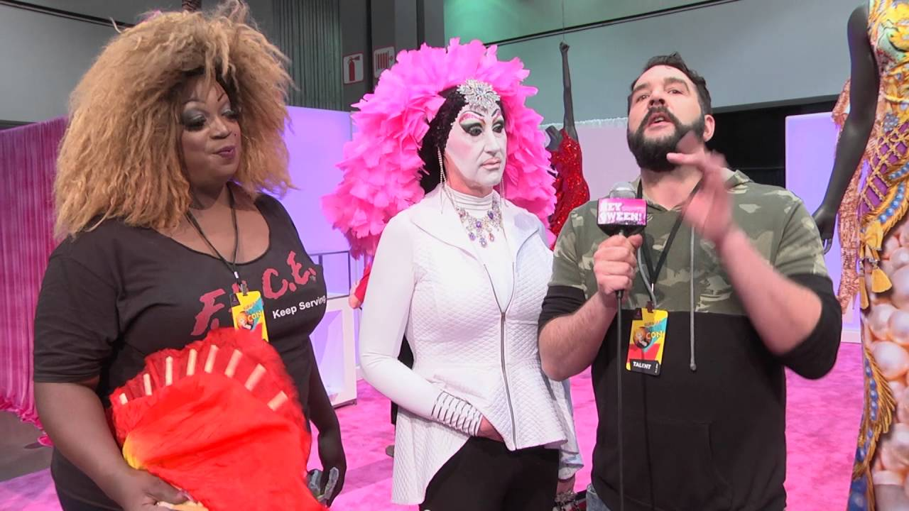 Sister Roma from Rupaul's DragCon 2016 on Hey Qween Live