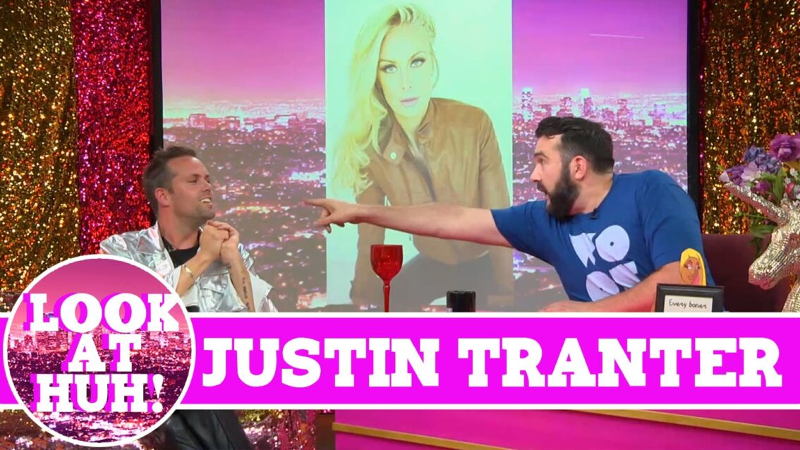 Semi Precious Weapons' Justin Tranter : Look at Huh SUPERSIZED Pt 1 on Hey Qween! with Jonny McGovern