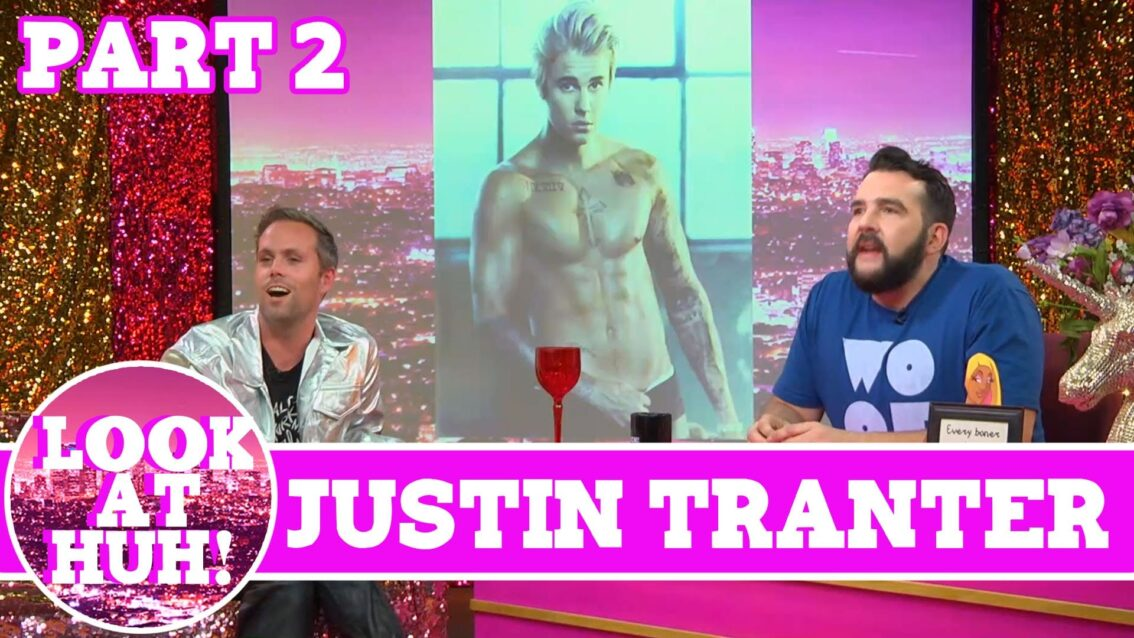 Semi Precious Weapons' Justin Tranter : Look at Huh SUPERSIZED Pt 2 on Hey Qween! with Jonny McGovern