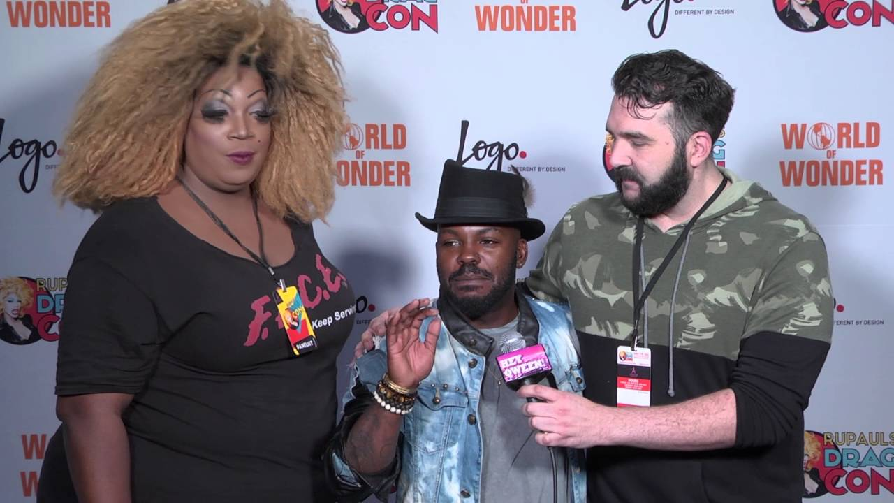 Larry Sims from Rupaul's DragCon 2016 on Hey Qween Live