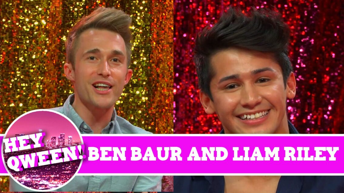 Cockyboys' Liam Riley and Actor Ben Baur on Hey Qween with Jonny McGovern