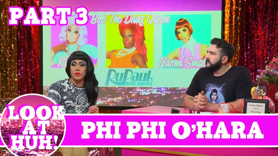 Phi Phi O'Hara UNCUT Part 3 On Hey Qween with Jonny McGovern