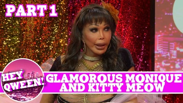 Glamorous Monique Hey Qween! LEGENDS EDITION with Jonny McGovern PT 1