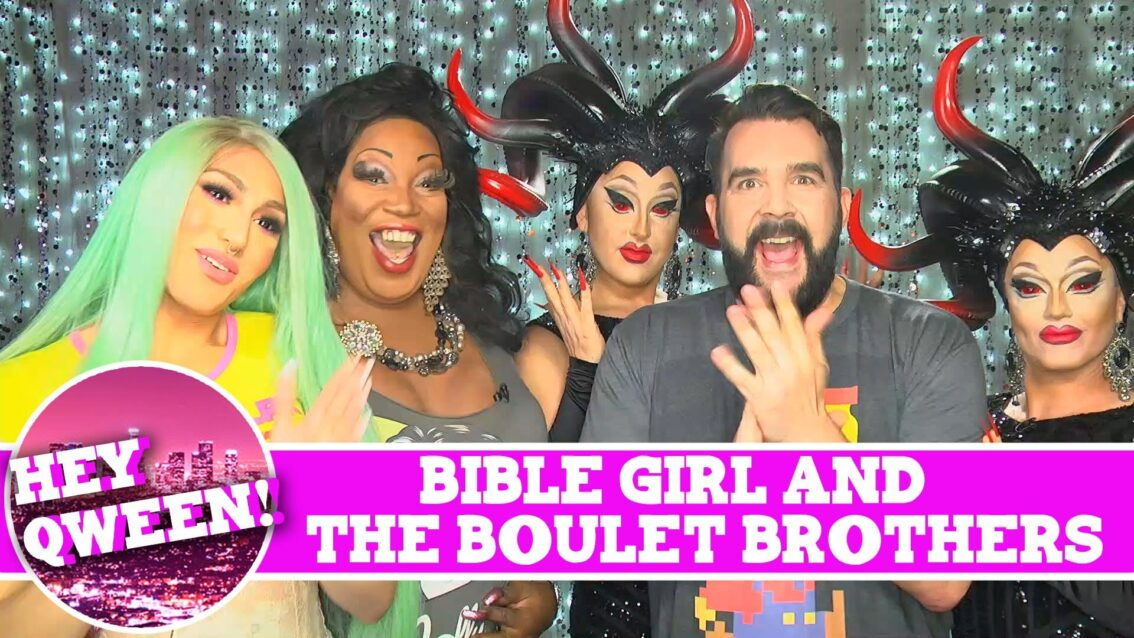 Bible Girl & The Boulet Brothers on Hey Qween! SUPERSIZED with Jonny McGovern! PROMO!