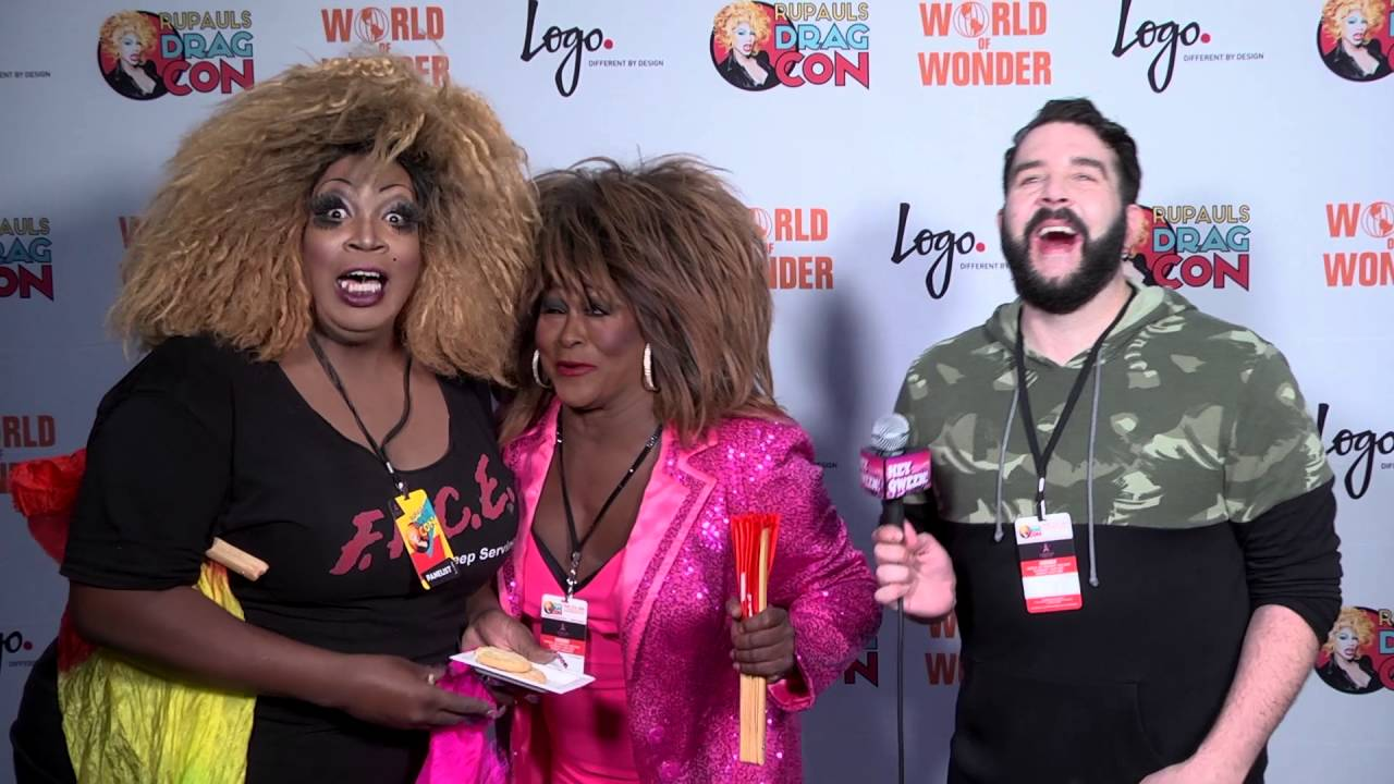 Freddy Ralda from Rupaul's DragCon 2016 on Hey Qween Live