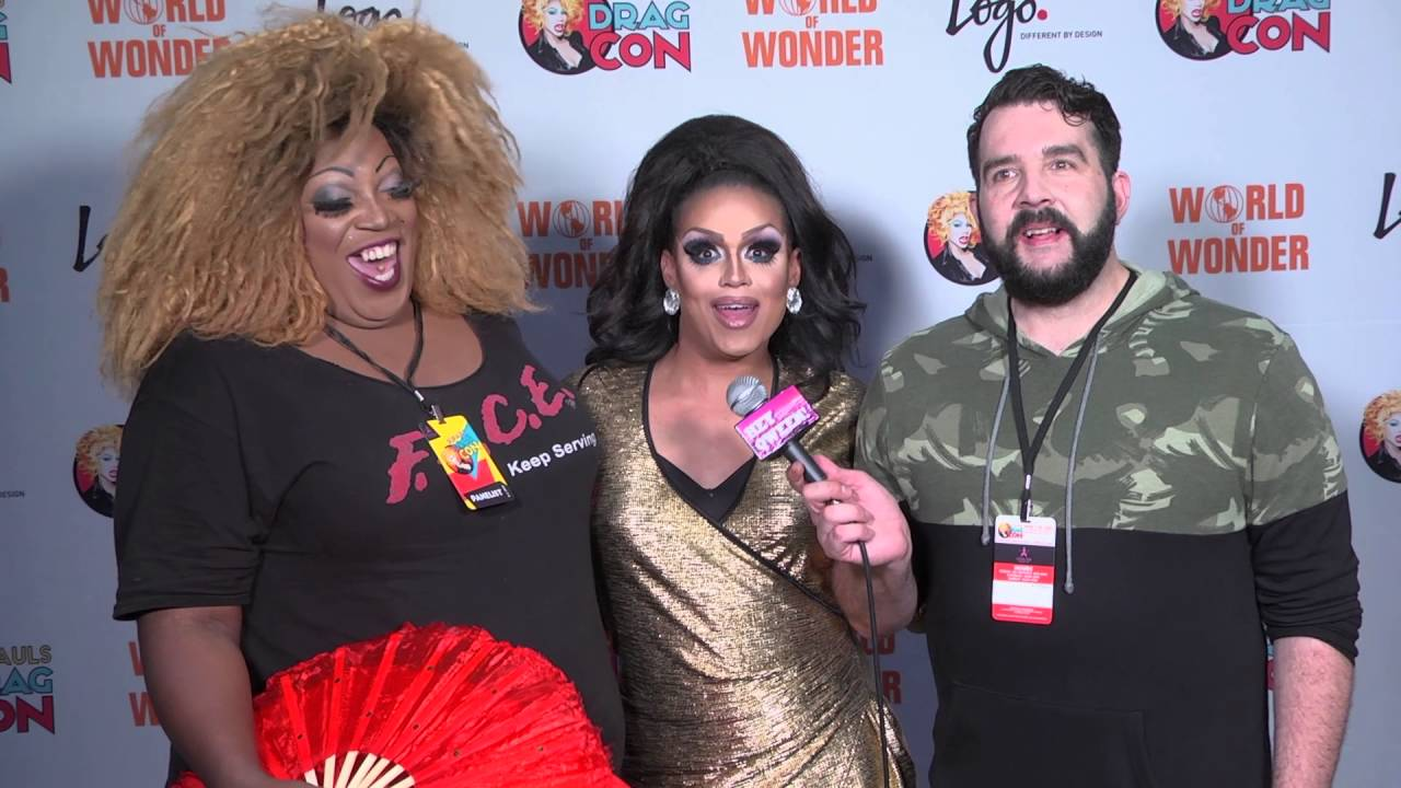 Mariah Balenciaga at Rupaul's DragCon 2016 on Hey Qween Live