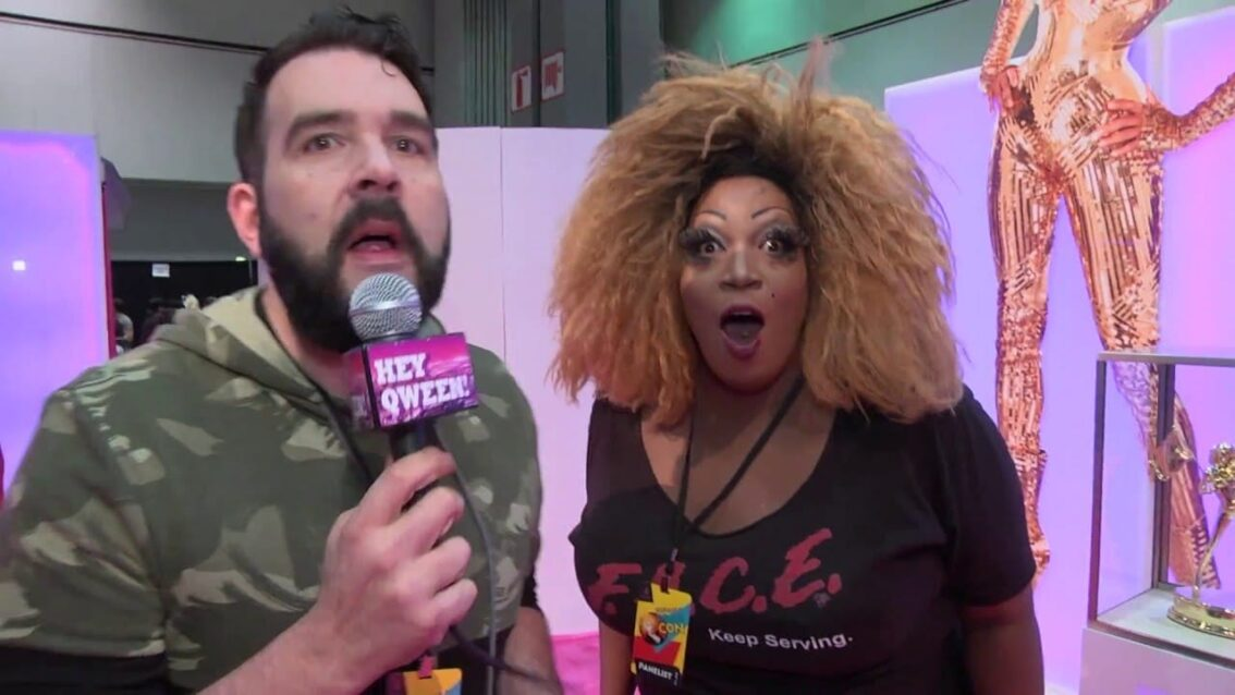 Rupaul Dragatorium at Rupaul's Drag Con 2016 on Hey Qween Live