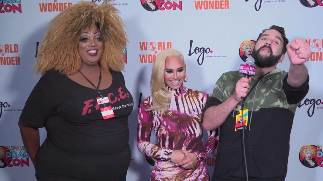 Naysha Lopez from Rupaul's DragCon 2016 on Hey Qween Live