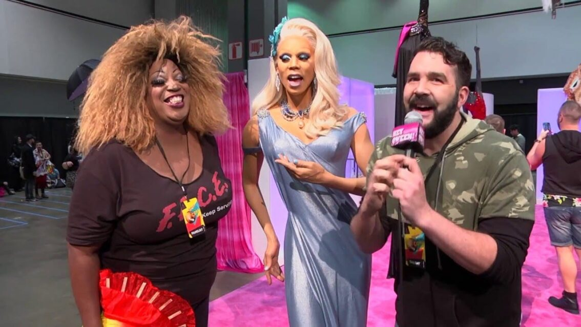 Rupaul at Rupaul's DragCon 2016 on Hey Qween Live