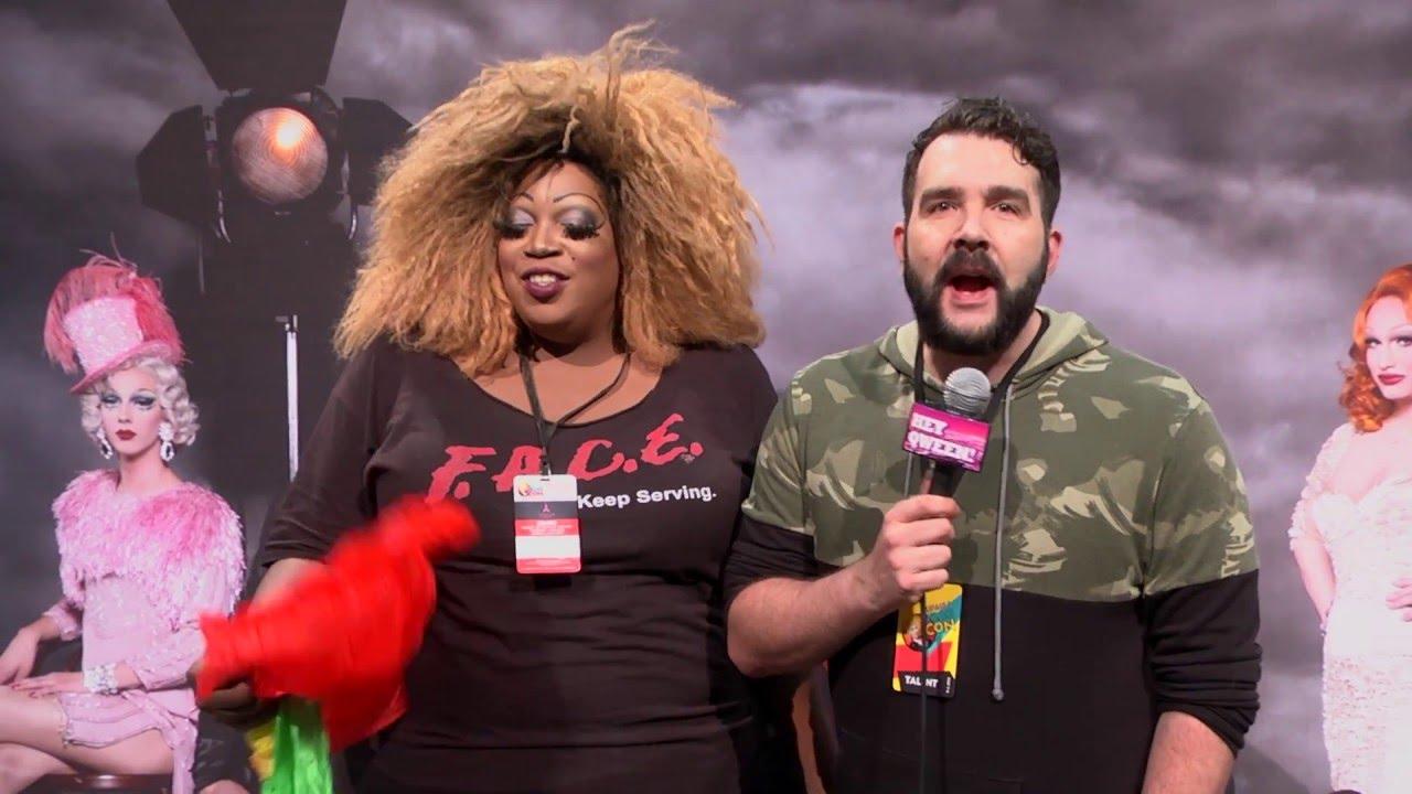 RuPaul's Drag Race Winners at Rupaul's DragCon 2016 on Hey Qween Live
