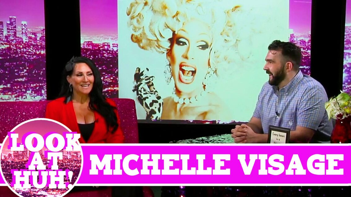 Michelle Visage LOOK AT HUH! On Hey Qween with Jonny McGovern