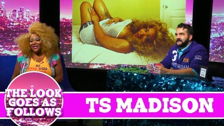 Ts Madison THE LOOK GOES AS FOLLOWS! On Hey Qween with Jonny McGovern Photo