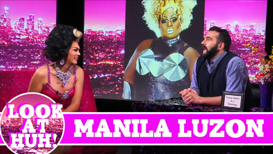 Manila Luzon LOOK AT HUH! On Hey Qween with Jonny McGovern