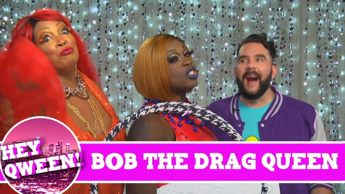 Bob the Drag Queen on the Season 4 Finale of Hey Qween with Jonny McGovern!!! Promo!!!