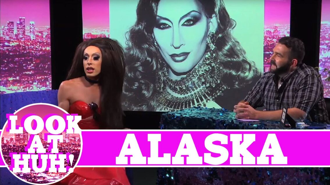 Alaska Thunderfuck LOOK AT HUH!  On Hey Qween with Jonny McGovern