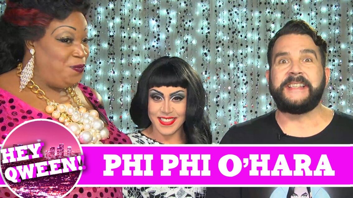 Phi Phi O'Hara On Hey Qween with Jonny McGovern PROMO