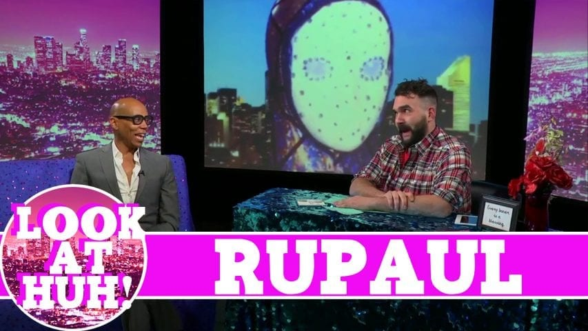 RuPaul LOOK AT HUH! On Hey Qween with Jonny McGovern Photo