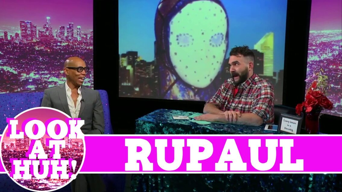 RuPaul LOOK AT HUH! On Hey Qween with Jonny McGovern