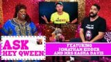 Mrs Kasha Davis and Jonathan Kidder on Ask Hey Qween! with Jonny McGovern & Lady Red Couture! S1E8