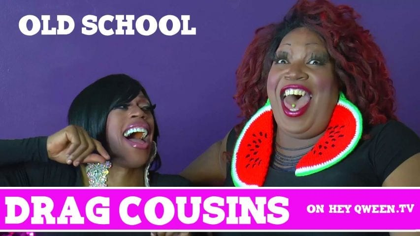 Drag Cousins: Old School: with RuPaul's Drag Race Star Jasmine Masters & Lady Red Couture: Episode Photo