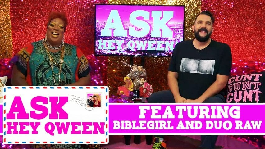 Ask Hey Qween! Featuring Biblegirl & Duo Raw! S1E1 Photo