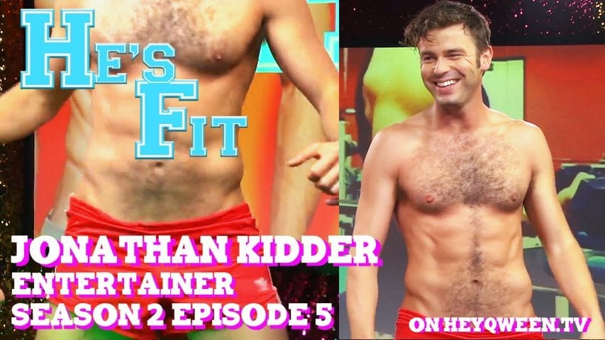 Entertainer Jonathan Kidder on He's Fit!: Shirtless Fitness & Muscle Exploitation Photo