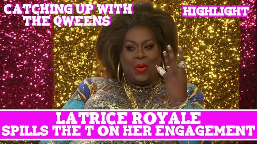 Hey Qween EXCLUSIVE: Latrice Royale Spills The T On Her Engagement! Photo