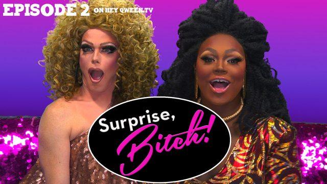Morgan McMichaels & Mayhem Miller on Surprise, Bitch! : S1E2 Pepper Spray Melee