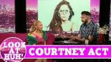 Courtney Act LOOK AT HUH! On Hey Qween with Jonny McGovern