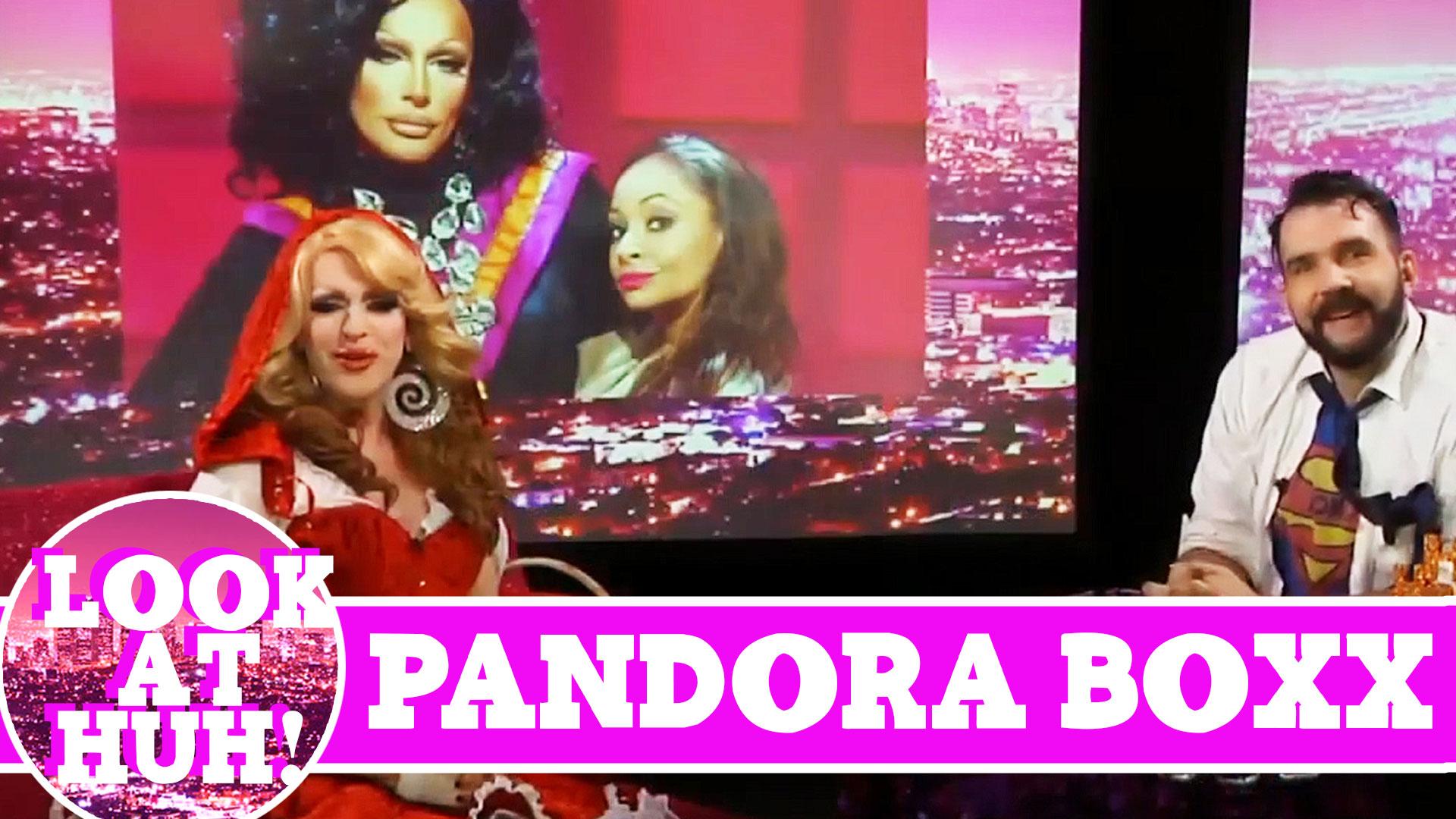 Pandora Boxx LOOK AT HUH! On Hey Qween with Jonny McGovern