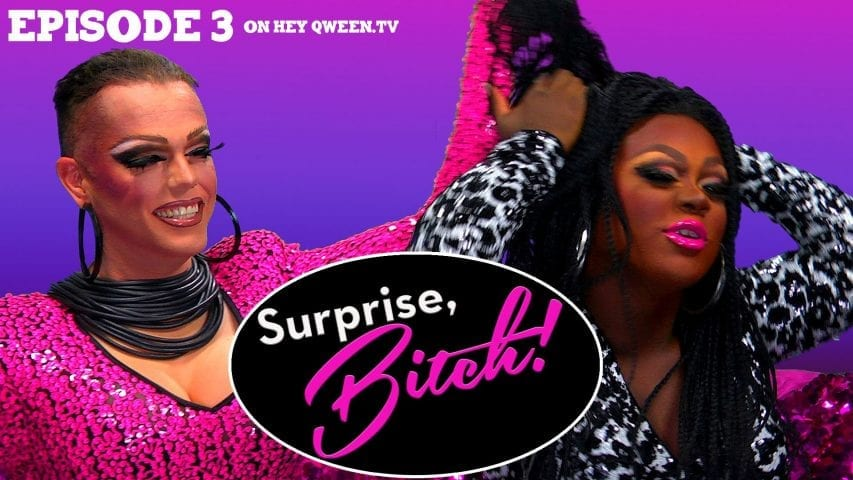 Morgan McMichaels & Mayhem Miller on Surprise, Bitch! : S1E3 Photo