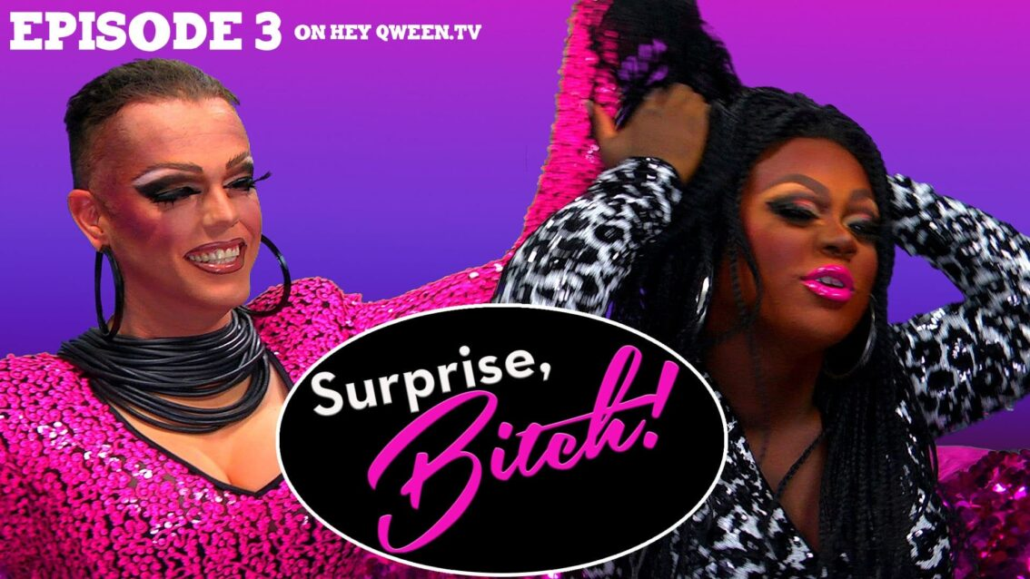 Morgan McMichaels & Mayhem Miller on Surprise, Bitch! : S1E3