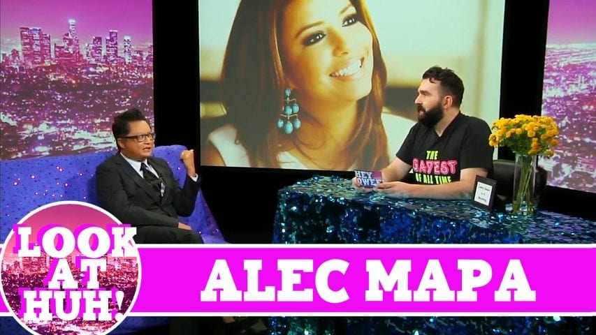 Alec Mapa LOOK AT HUH! On Hey Qween with Jonny McGovern Photo