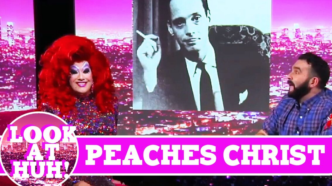 Peaches Christ LOOK AT HUH! On Hey Qween with Jonny McGovern